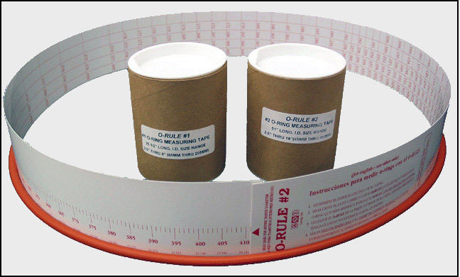 Tape Rule for O-Ring Sizing