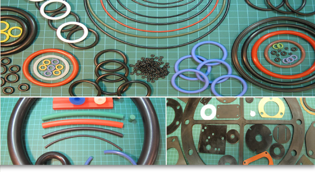 Various rubber parts