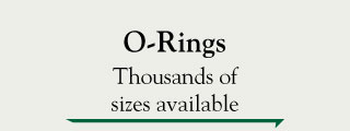 O-rings - Thousands of sizes available