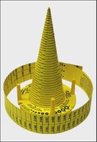 "9CONE 8"" O-Ring Measuring Cone"